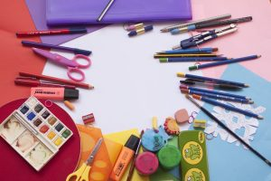 Online management tools and websites used to order office and art supplies ordered through