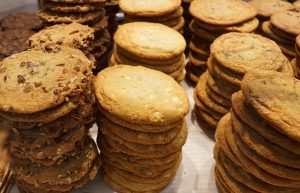 Selling cookies is a great food focused fundraiser for booster clubs