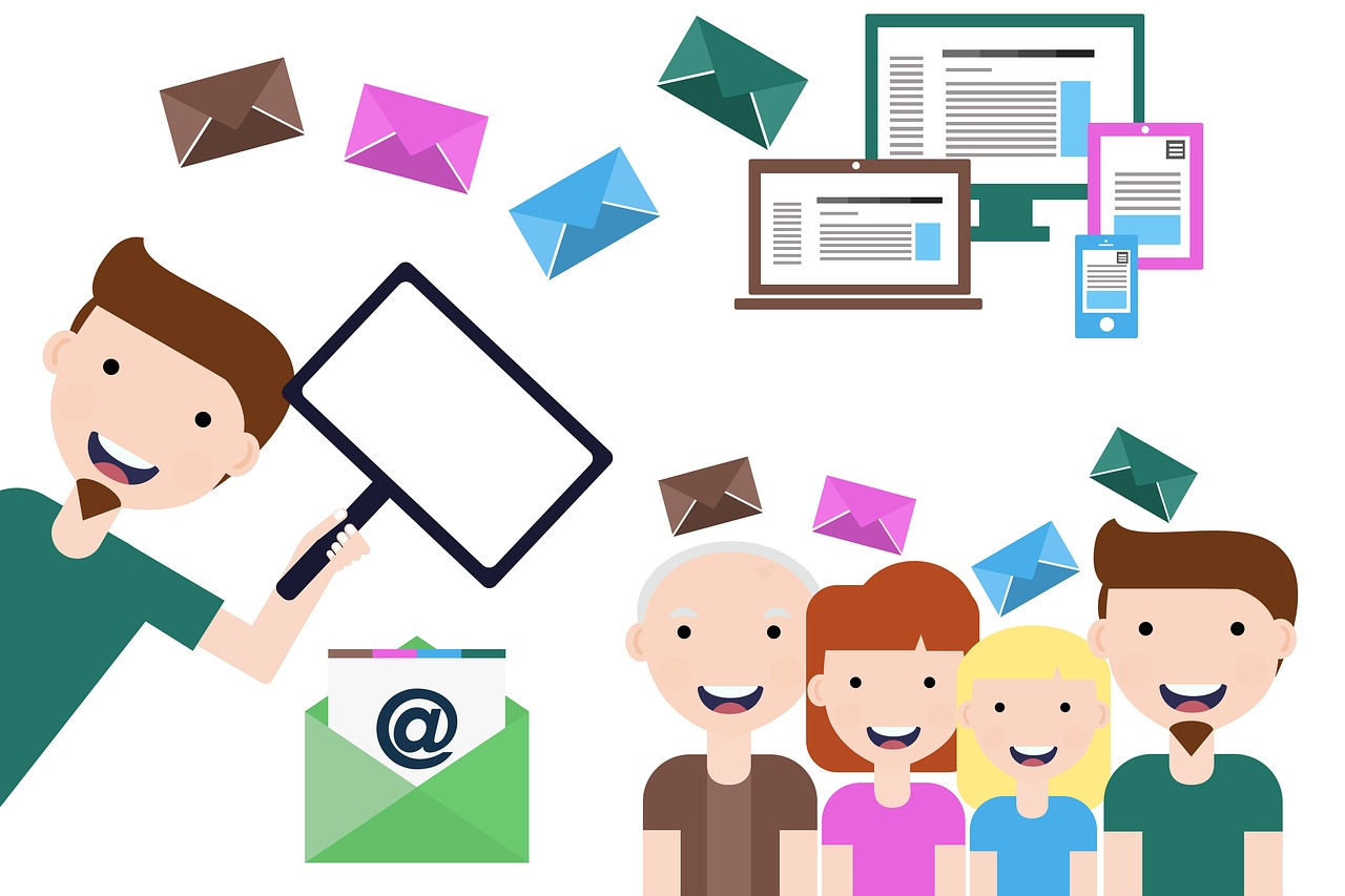 Email communication is one way to make sure booster club messaging and information is spread