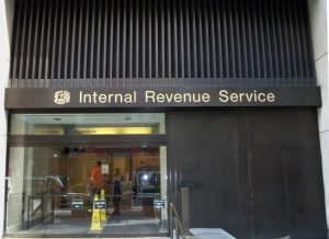 The IRS building in New York City