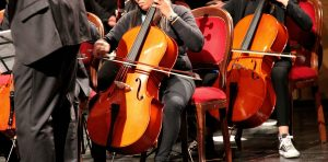 A Youth Orchestra Booster Club supports students musica; creativeness