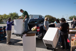 Booster club rolling out bins to accept in-kind donations