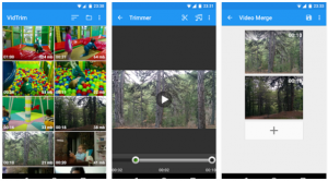 VidTrim Video Editing app for Android phones for editing videos anywhere