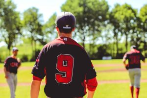 Recruited player scouted by baseball booster club