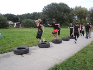 Memorial Day Fundraiser boot camp event