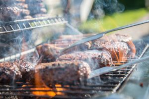 Booster Club Memorial Day Fundraiser BBQ dinner and silent auction