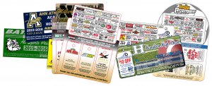 Different scratch card fundraisers