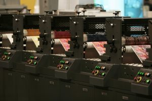 Online Printing solution running their presses