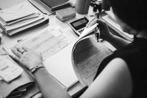 Working through Booster Club Tax Paperwork