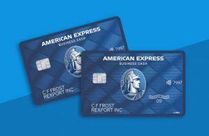 Booster club credit card by American Express Blue