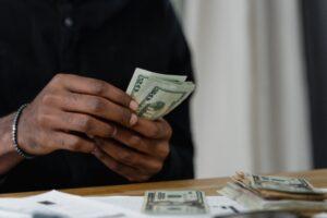 Treasurer managing booster club 501c3 status cash donations