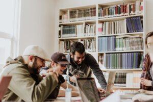 Using online tools to help improve volunteer work efficiency.